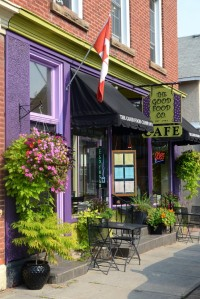 The Good Food Company for brunch in Carleton Place